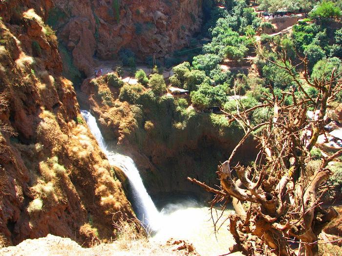 Водопад Узуд– Покрывало влюбленных в Марокко. 25525