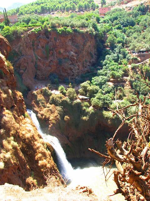 Водопад Узуд– Покрывало влюбленных в Марокко. 31875