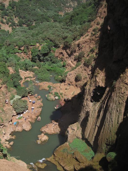 Водопад Узуд– Покрывало влюбленных в Марокко. 95401