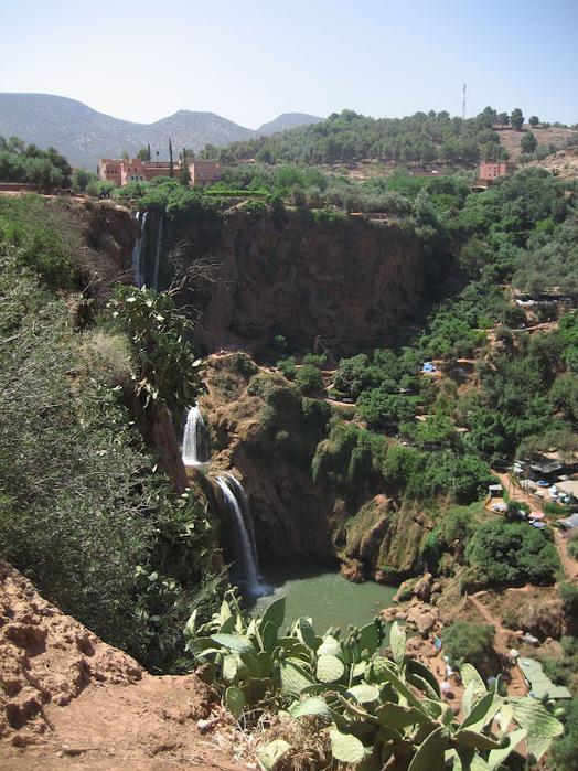 Водопад Узуд– Покрывало влюбленных в Марокко. 93053