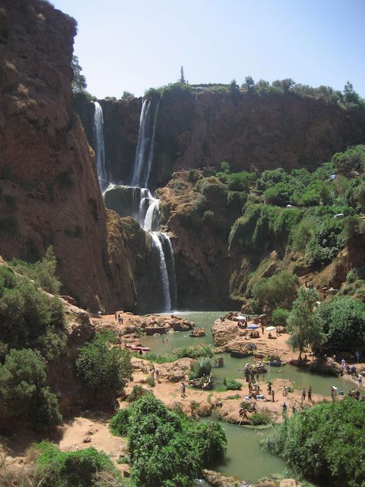 Водопад Узуд– Покрывало влюбленных в Марокко. 64964