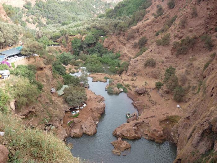 Водопад Узуд– Покрывало влюбленных в Марокко. 56673