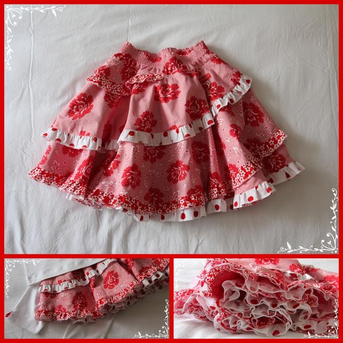 Сшить юбку для девочки своими руками без выкройки 133