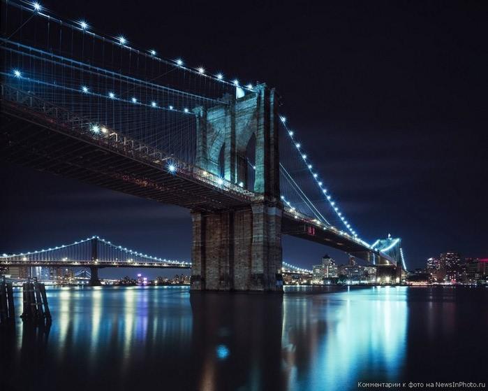 Городские пейзажи Нью-Йорка на фото Эндрю Мейса (Andrew Mace)  8 (700x559, 81Kb)