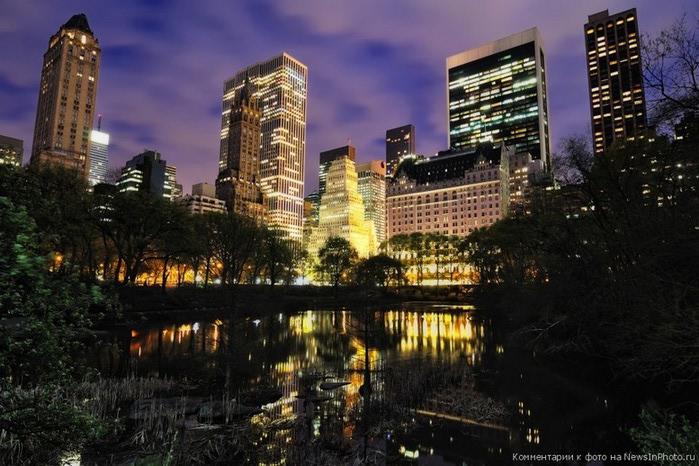 Городские пейзажи Нью-Йорка на фото Эндрю Мейса (Andrew Mace)  15 (700x466, 113Kb)