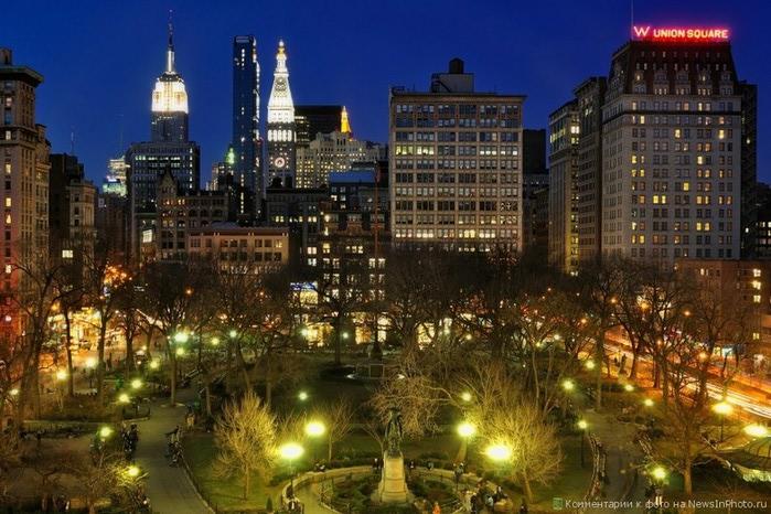 Городские пейзажи Нью-Йорка на фото Эндрю Мейса (Andrew Mace)  17 (700x466, 124Kb)