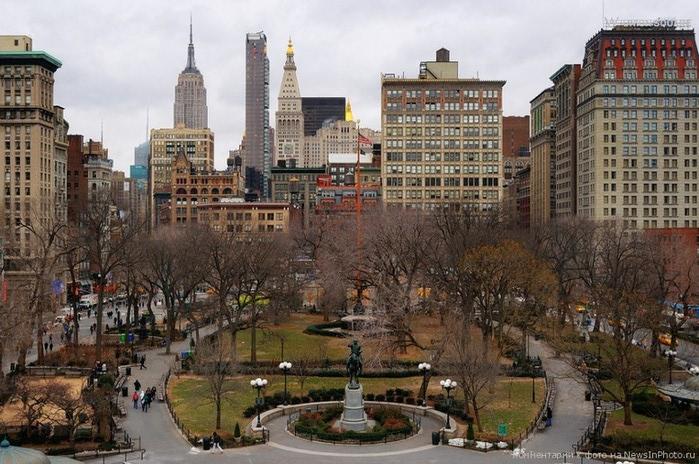 Городские пейзажи Нью-Йорка на фото Эндрю Мейса (Andrew Mace)  19 (700x464, 128Kb)