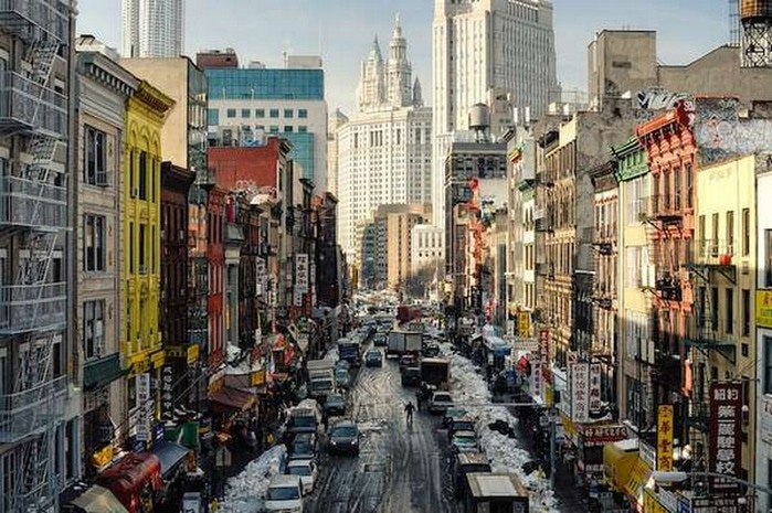 Городские пейзажи Нью-Йорка на фото Эндрю Мейса (Andrew Mace)  21 (700x465, 140Kb)