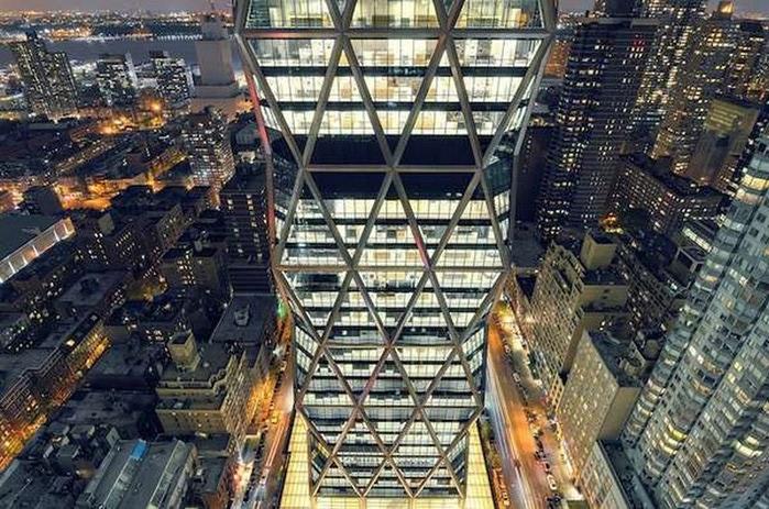 Городские пейзажи Нью-Йорка на фото Эндрю Мейса (Andrew Mace)  27 (700x463, 152Kb)
