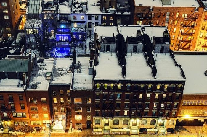 Городские пейзажи Нью-Йорка на фото Эндрю Мейса (Andrew Mace)  31 (700x464, 146Kb)