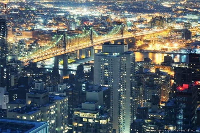Городские пейзажи Нью-Йорка на фото Эндрю Мейса (Andrew Mace)  33 (700x466, 153Kb)