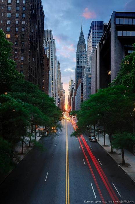 Городские пейзажи Нью-Йорка на фото Эндрю Мейса (Andrew Mace)  37 (465x700, 354Kb)