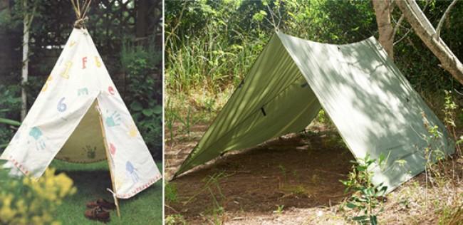 Как сделать палатку своими руками в домашних