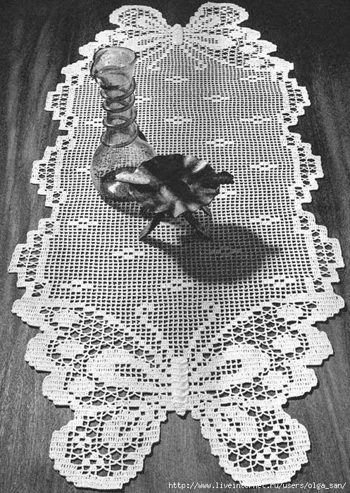 салфетка -бабочка-