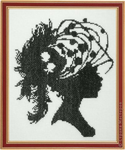 Добавляю схемы. где скачивала, не помню - давно было.  Портрет прекрасной дамы.  Монохром.  Прочитать целикомВ.