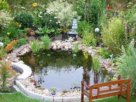 Как сделать садовый пруд своими руками - Дача в свое удовольствие