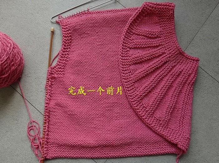 Детские вязанные платья схемы