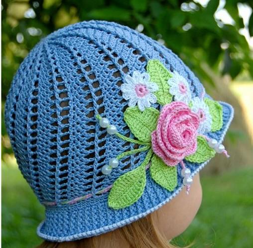Детская летняя шляпка-панамка ажурная крючком для девочек,мастер-класс/4683827_20120526_102719 (508x497, 93Kb)