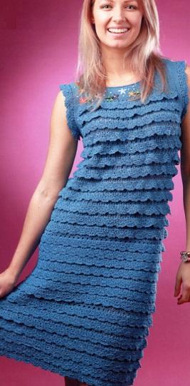 синее платье (267x541, 70Kb)