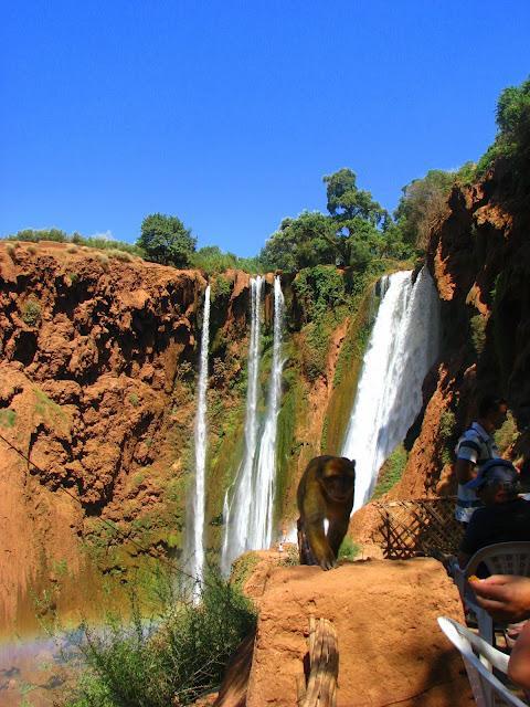 Водопад Узуд– Покрывало влюбленных в Марокко. 18499