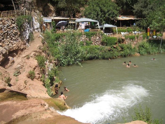 Водопад Узуд– Покрывало влюбленных в Марокко. 72672