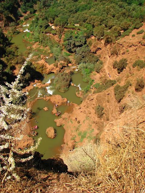 Водопад Узуд– Покрывало влюбленных в Марокко. 92705