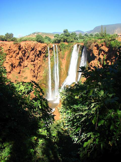 Водопад Узуд– Покрывало влюбленных в Марокко. 10360