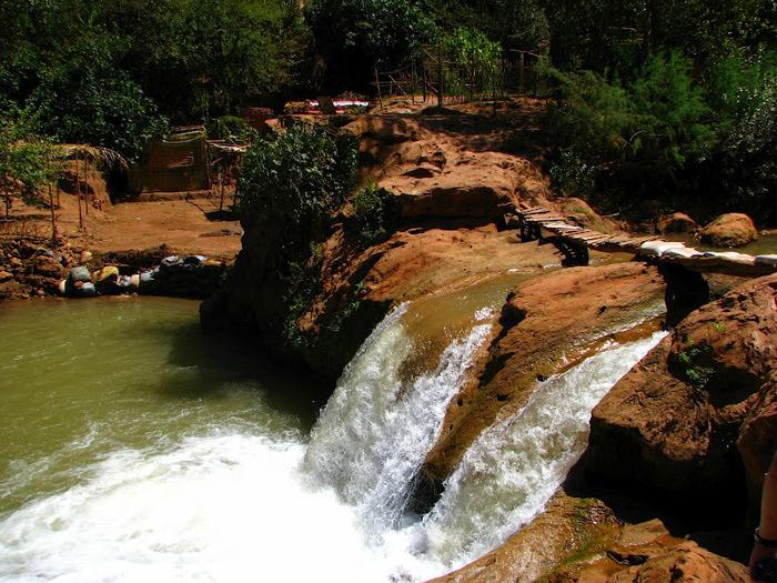 Водопад Узуд– Покрывало влюбленных в Марокко. 64708