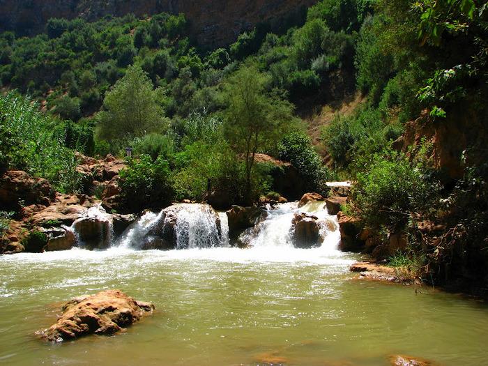 Водопад Узуд– Покрывало влюбленных в Марокко. 74359