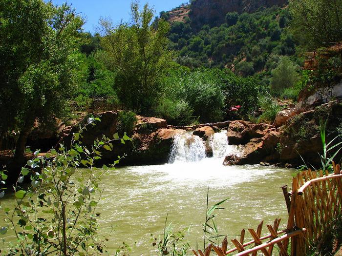 Водопад Узуд– Покрывало влюбленных в Марокко. 77928