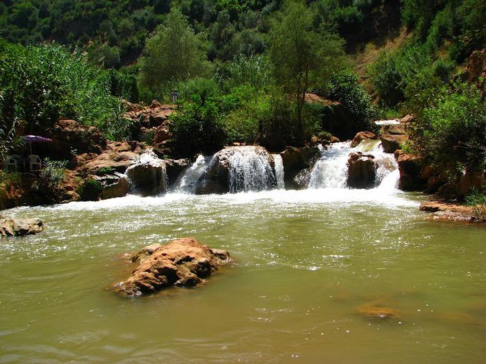 Водопад Узуд– Покрывало влюбленных в Марокко. 74743