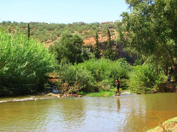 Водопад Узуд– Покрывало влюбленных в Марокко. 66793