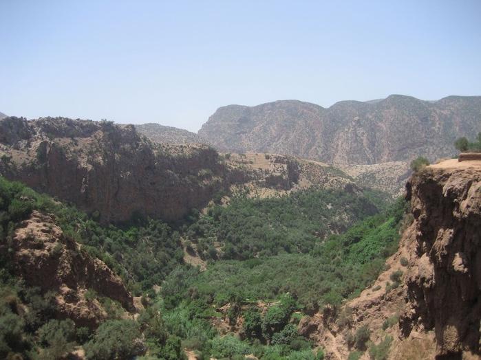 Водопад Узуд– Покрывало влюбленных в Марокко. 15028