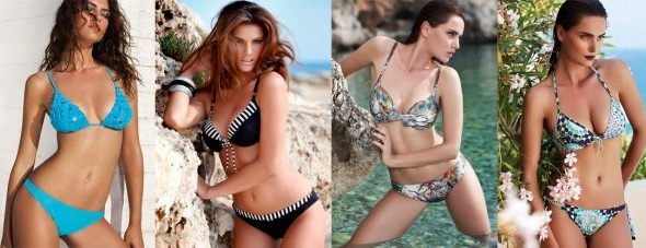 Модные купальники сезона 2012: винтаж, гофре, вязка…