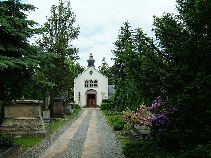 Старое католическое кладбище в Дрездене 63078