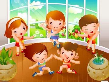 фото зарядка для детей
