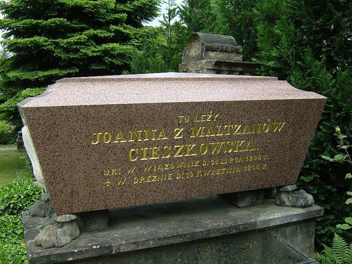 Старое католическое кладбище в Дрездене 35074