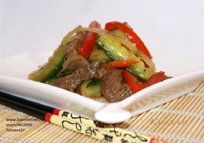 Огурцы с мясом по-корейски (700x493, 95Kb)