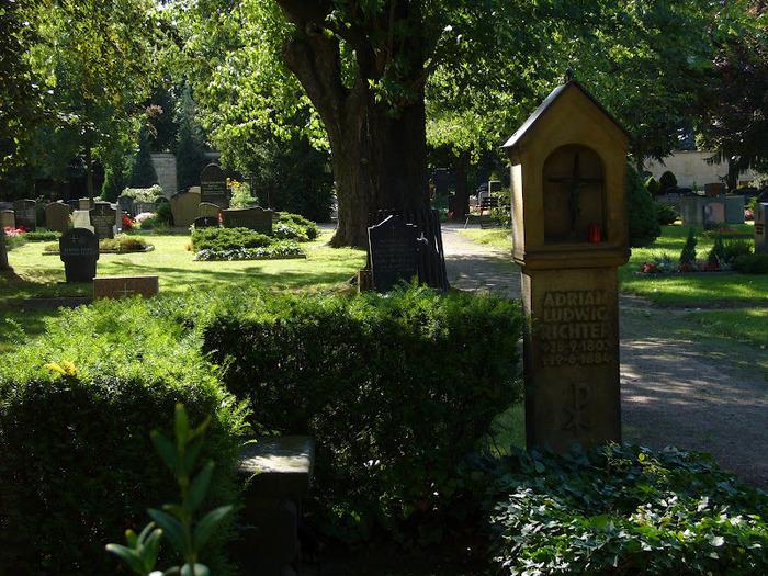 Старое католическое кладбище в Дрездене 12113