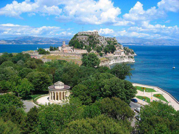 Корфу — греческий остров, самый северный и второй по площади среди Ионических островов (604x453, 79Kb)