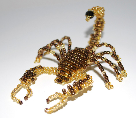 Бисероплетение скорпион.