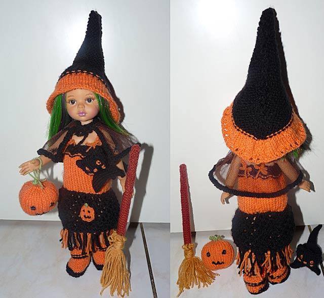 Кукла на хэллоуин своими руками фото