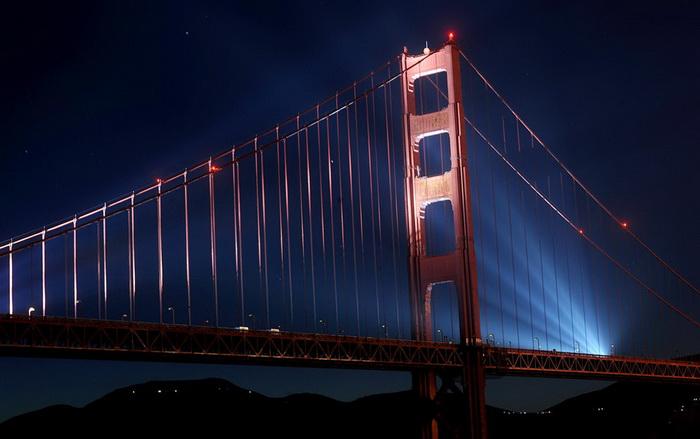 Мост Golden Gate Bridge в Сан Франциско