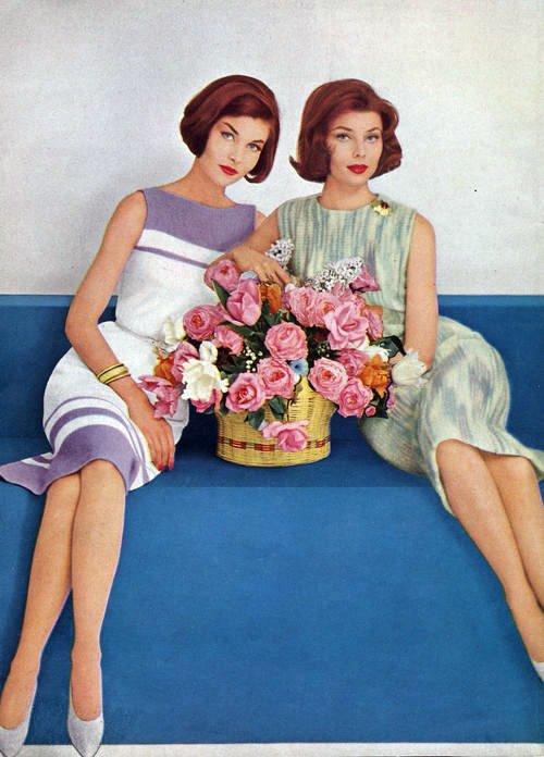 """Мода 60 годов, фото  """" Модные фото и видео  """" EMOD.RU."""