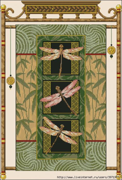 3971977_Dimensions35131_Dragonfly_Scroll (473x700, 350Kb)