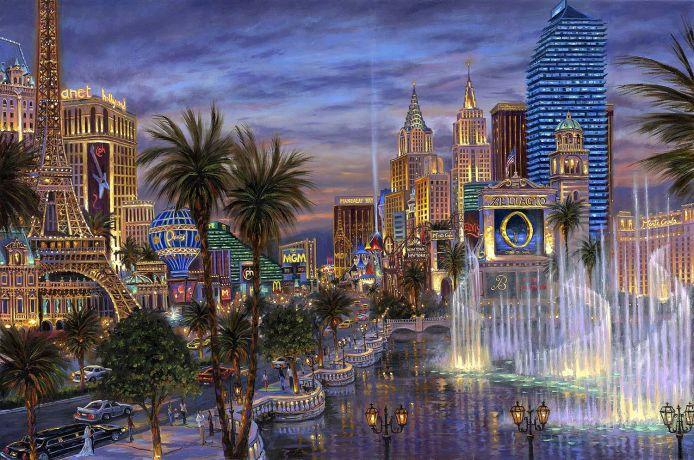 002 Вечер в Вегасе (Evening in Vegas) (694x460, 117Kb)