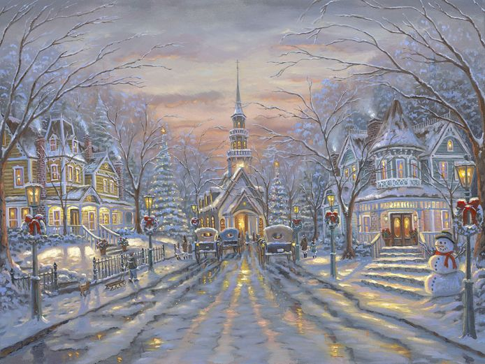 006 Благославленное Рождество (Christmas Blessings) (694x521, 111Kb)