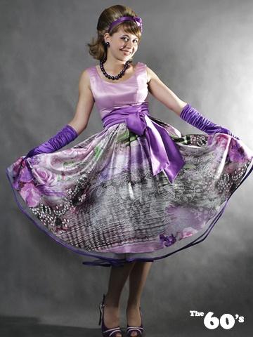 Выпускное платье в стиле стиляги.