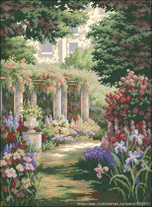 3971977_Dimensions_35079_Floral_Retreat (513x700, 455Kb)