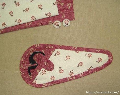 по пошиву чехла для ножниц